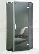Душевой уголок Elegansa trapez  grey (331) 900X900