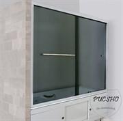 Шторка на ванну PUCSHO Vorhang gray (3100) 1800X1500