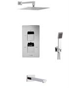 Душевая система скрытого монтажа с термостатом WasserKraft АIme A0911544