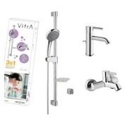 Комплект смесителей VITRA Minimax S A49153EXP