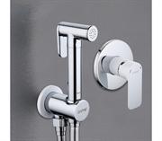 Гигиенический душ скрытого монтажа GAPPO G7248 белый/хром