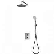 Душевая система скрытого монтажа с термостатом Omnires Bathroom Mixer SYS YT01 CR