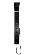 Душевая панель с гидромассажем RGW SP-04 B 21140104-04 черная