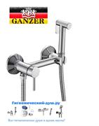 Гигиенический душ с настенным смесителем GANZER UNI GZ122022012 хром