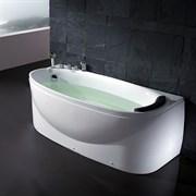 Акриловая ванна с гидромассажем EAGO - AM1104RD (Left) 1700x800x640