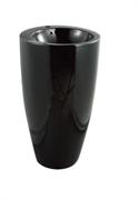 Раковина напольная CERAMALUX NВ133B черная