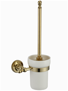 Ершик для унитаза настенный Ganzer GZ31090E золото