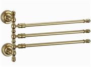 Держатель для полотенец Ganzer GZ 31013E золото