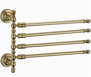 Держатель для полотенец Ganzer GZ 31014E золото