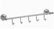 Кронштейн настенный, 5 крючков Ganzer GZ 31075