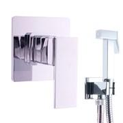 Гигиенический душ скрытого монтажа Rav Slezak Loira LR542/1 с запорным клапаном