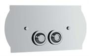 Кнопка для инсталляции Boheme  CHROMO 653