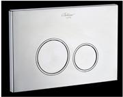 Кнопка для инсталляции Boheme CHROMO 659