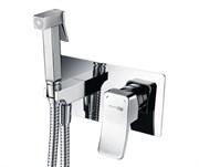 Гигиенический душ скрытого монтажа WasserKraft Aller 10638 хром