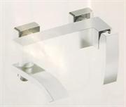 Смеситель для ванны Grohenberg GB8007P хром/белый