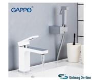 Смеситель для раковины с гигиеническим душем GAPPO Futura G1017-1