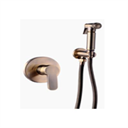 Гигиенический душ скрытого монтажа GANZER LEON GZ 5202D бронза