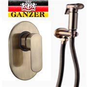Гигиенический душ скрытого монтажа GANZER LEON GZ 5101D бронза