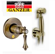 Гигиенический душ скрытого монтажа GANZER SEVERIN GZ 770552014D бронза