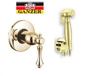 Гигиенический душ скрытого монтажа GANZER SEVERIN GZ 770552014E золото
