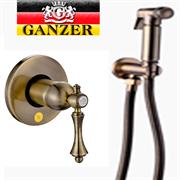 Гигиенический душ скрытого монтажа GANZER SEVERIN GZ 77055D бронза