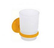 Стакан для зубных щеток Creavit Ducky BJ11023Y желтый