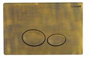 Клавиша смыва Creavit Drop GP2007.00 цвет бронза