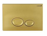 Клавиша смыва Creavit Drop GP2006.00 золото матовое