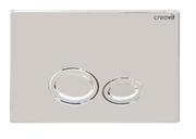 Клавиша смыва Creavit Drop GP2004.00 хром глянец
