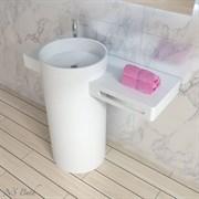 Раковина напольная NS Bath NSF-1047M на 100 см белая матовая