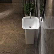 Раковина напольная NS Bath NSF-46461G на 48 см белая глянцевая