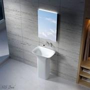 Раковина напольная NS Bath NSF-60401M на 68 см белая матовая