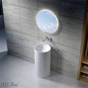 Раковина напольная NS Bath NSF-43430G на 43 см белая глянцевая
