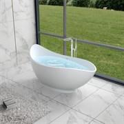 Ванна из искусственного камня NS Bath NSB-17810M 175x81 белая матовая