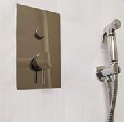 Гигиенический душ скрытого монтажа с термостатом Ganzer Termo GZ201155055