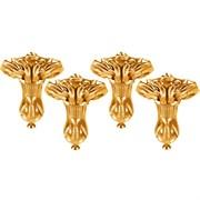 Комплект ножек для ванны BelBagno BB-LEG-EAGLE-ORO золото
