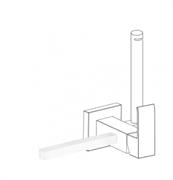 Полотенцедержатель для гигиенического душа TRES Cuadro 03412402BM
