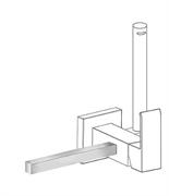 Полотенцедержатель для гигиенического душа TRES Cuadro 03412402
