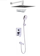Душевая система скрытого монтажа Grohenberg GB5008 хром