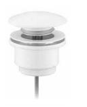Донный клапан Grohenberg GB106 White