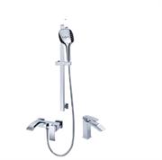Комплект для ванной комнаты Grohenberg GB1007WC хром/белый