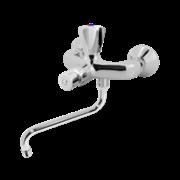 Порционно нажимной смеситель для раковины настенный VARION ARMATUREN 9501900