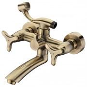 Смеситель для ванной KAISER TRIO 57122-1 BRONZE