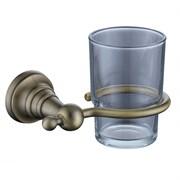 4205 Держатель стакана(стекло) KAISER бронза (латунь)