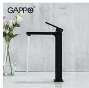 Смеситель для раковины Gappo Futura G1017-62 черный матовый