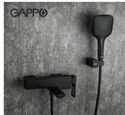 Смеситель для ванны Gappo Futura G3217-6 черный матовый