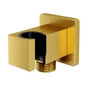 Шланговые соединения WasserKraft Aisch A184 матовое золото