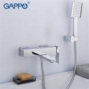 Смеситель для ванны Gappo Futura G3218 хром