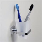 Стакан для зубных щеток стеклянный Wasserkraft Dill K-3928