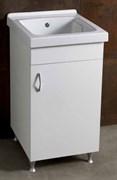 Постирочная раковина с тумбой AliceCeramica Laundry 300313+300313 MOB 46 см